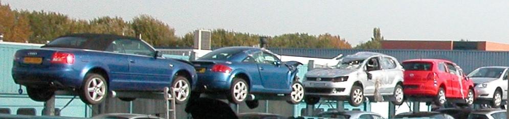 Onhandelbare 2. Draagarmstellingen op maat oplag auto's