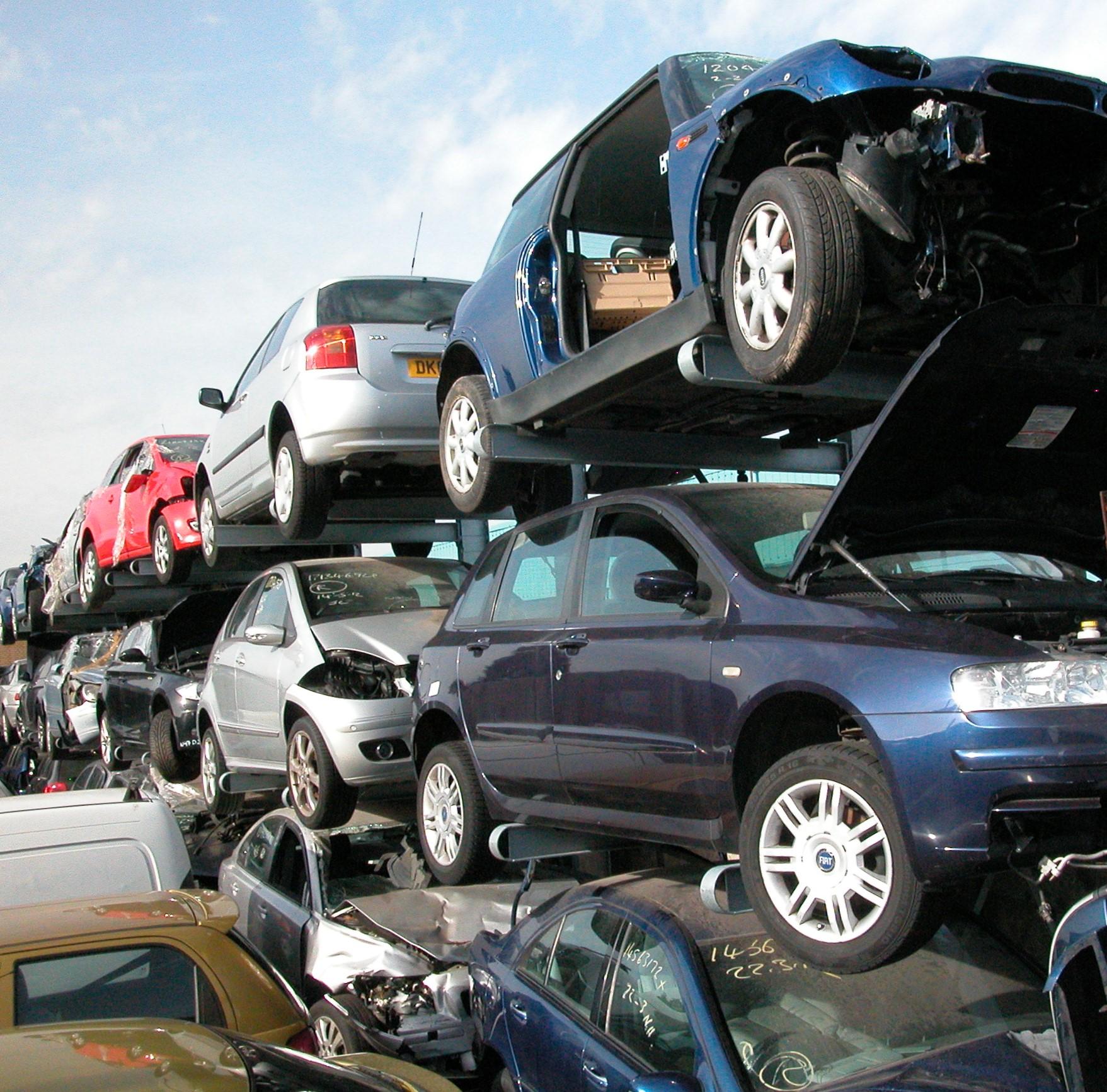 Onhandelbare 3. Buitenstelling of verzinkte draagarmstelling voor opslag auto's
