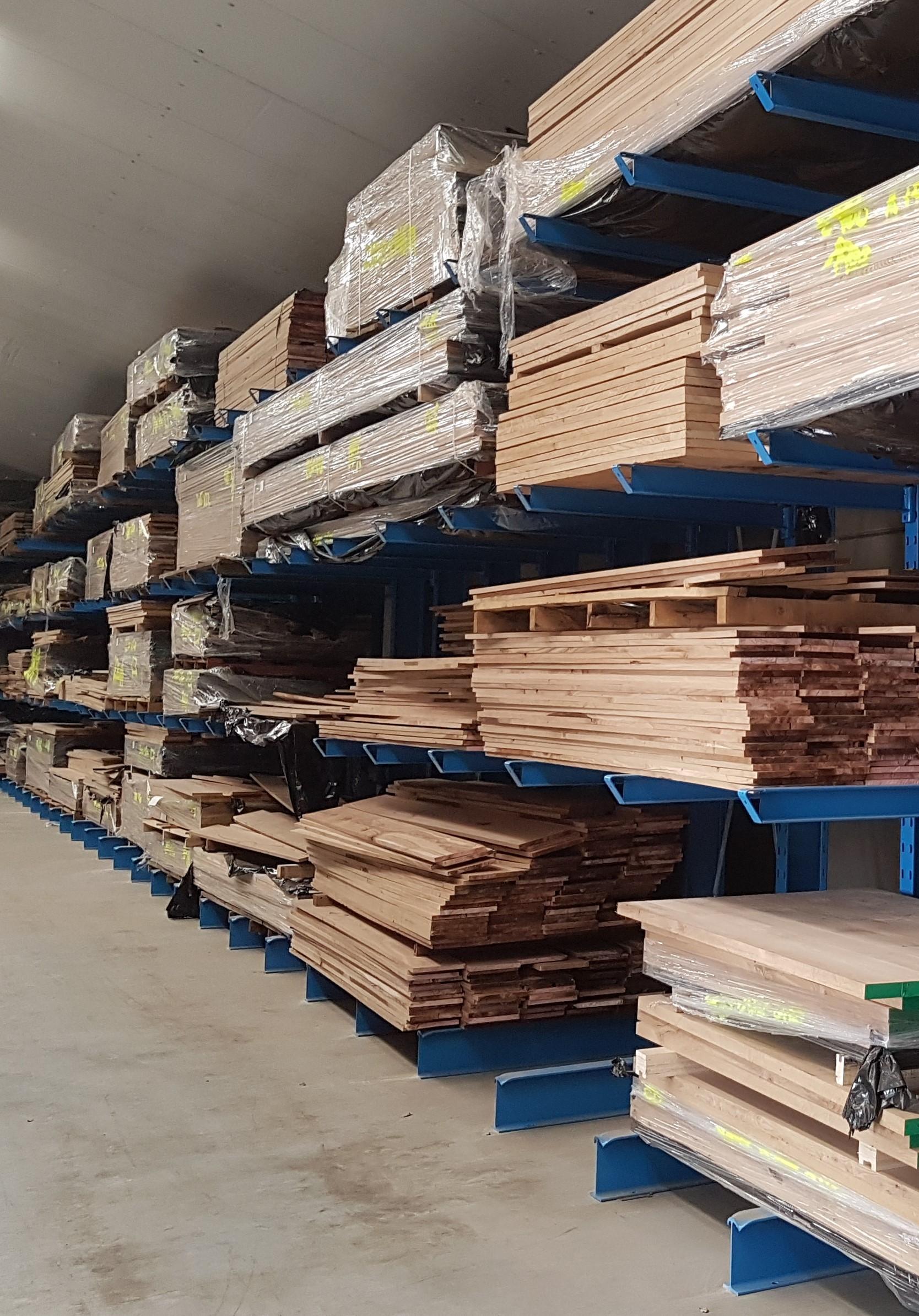 Zware 3. Zware enkelzijdige en dubbelzijdige draagarmstelling op voorraad voor opslag hout