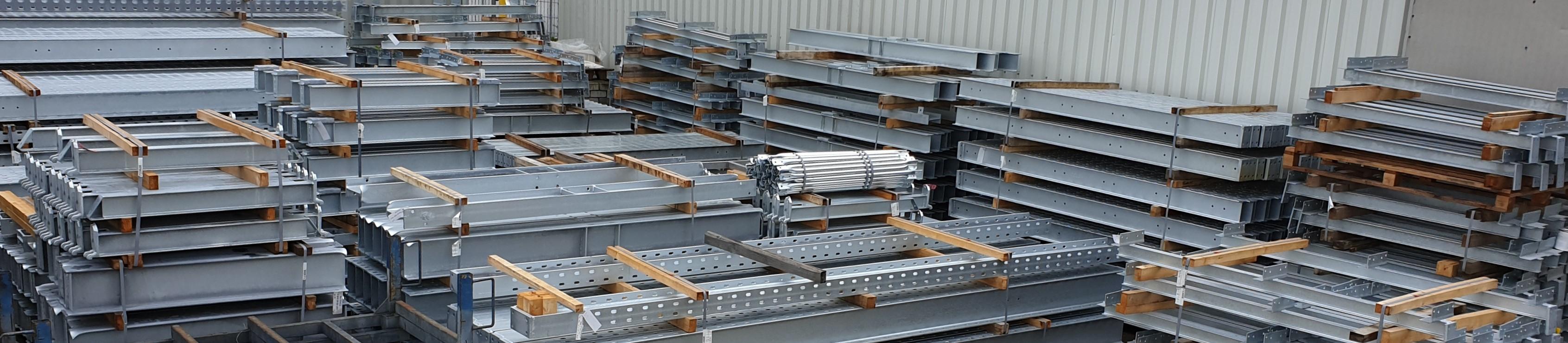 Toepassingen 4. OHRA draagarmstellingen zware en lichte met dak verzinkt voor buiten