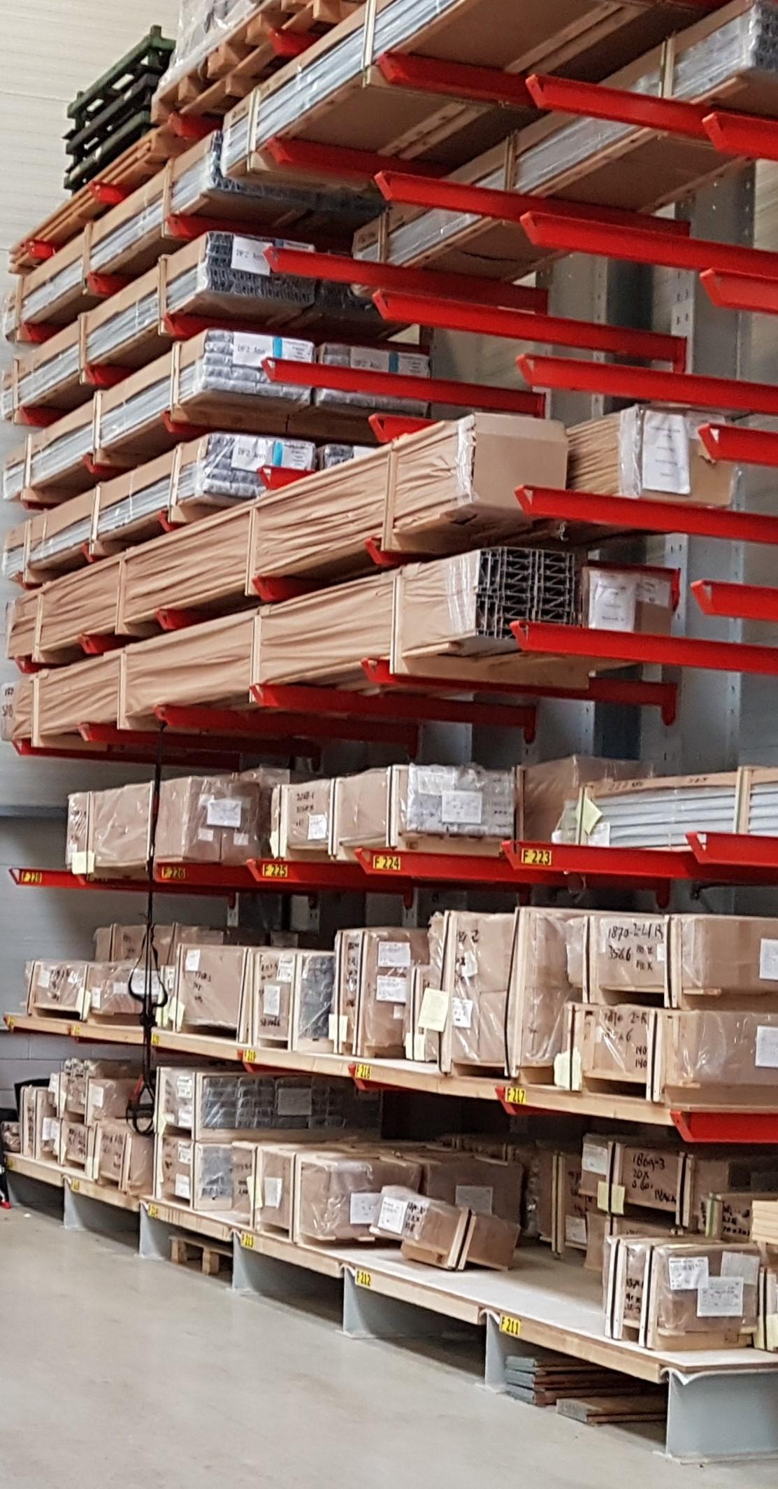 Opslag bouwmatr. 8 Magagazijninrichting op voorraad online