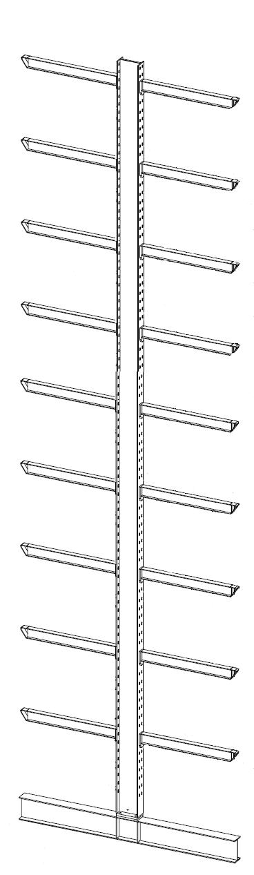V16A28 extra staander