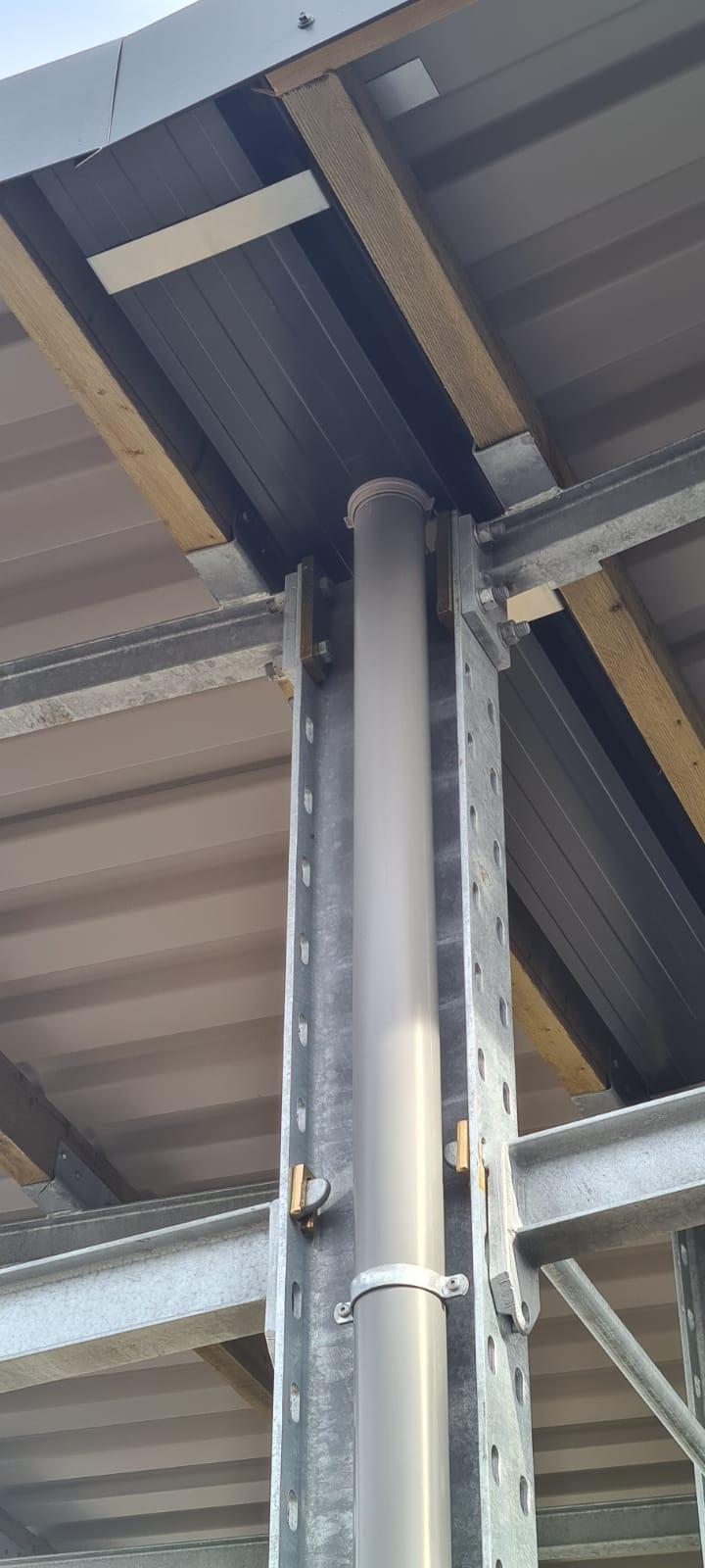 Type buiten met dak 3: draagarmrekken OHRA verzinkt met dak online uit voorraad