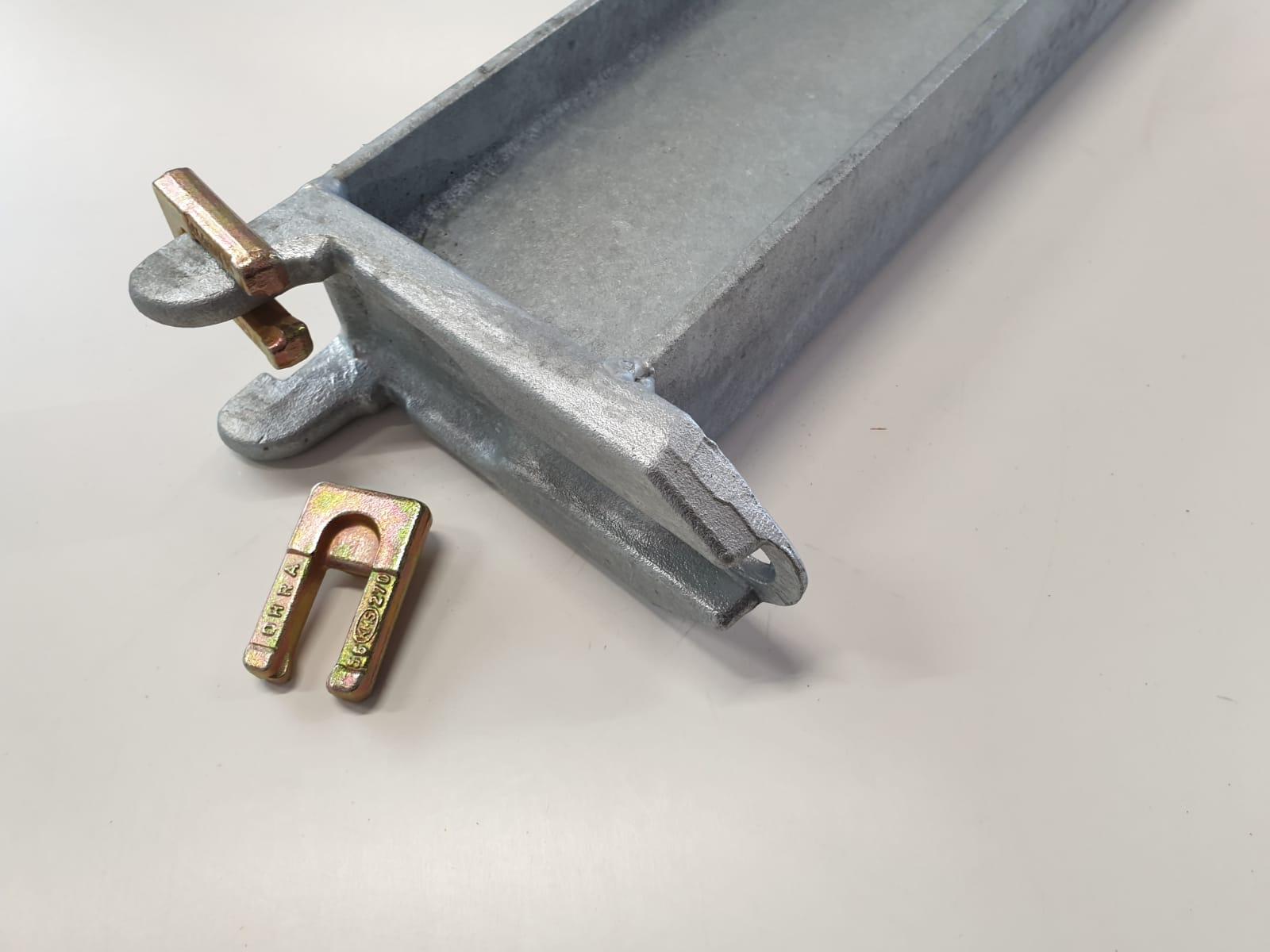 extra draagarmen verzinkt 1.200 mm (V613B120)